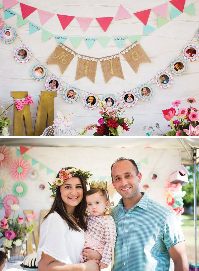 Blooming Spring Fling First Birthday Party Children S Tea Ideas