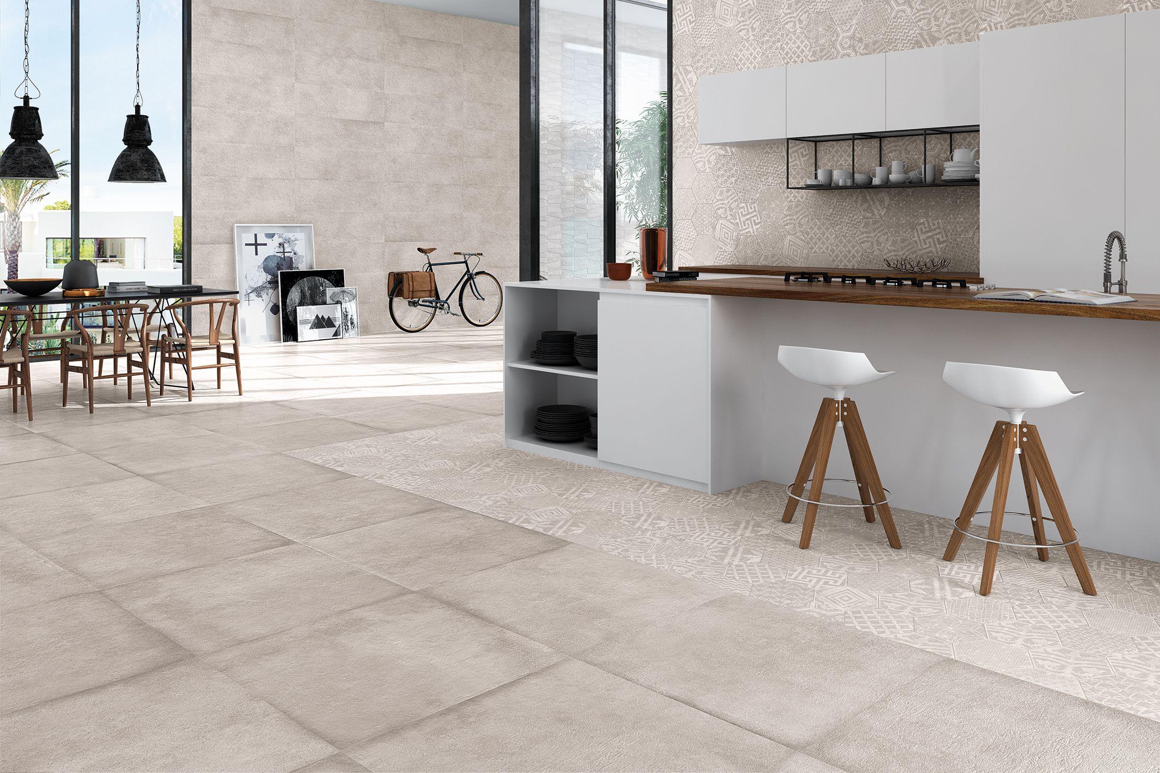 IBERO PORCELANICO · Pavimento / Floor Tiles Materika Grey