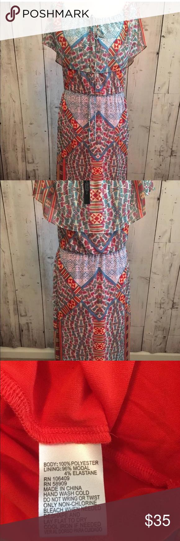 Tahari Arthur S Levine Nwt Ruffle Maxi Dress Ruffled Maxi Dress Boutique Maxi Dresses Maxi Dress [ 1740 x 580 Pixel ]