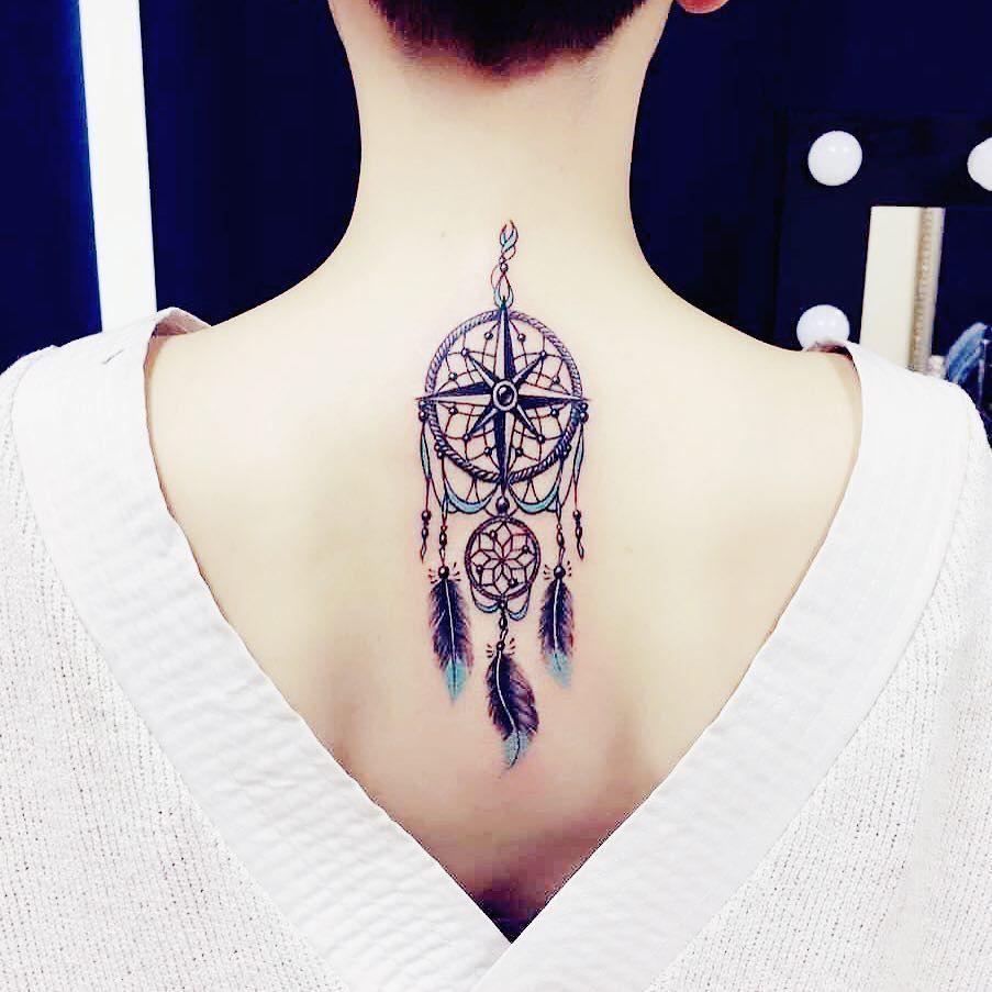 la signification et l 39 histoire du tatouage de l 39 attrape r ve tatouage pour femme pinterest. Black Bedroom Furniture Sets. Home Design Ideas