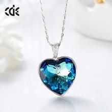 Charming  Women Magic Cube Crystal Chain Necklace Pendant Gift Fine Jewelry ZY