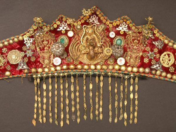Palembang Wedding Headdress, Antique, Sumatra, Indonesia