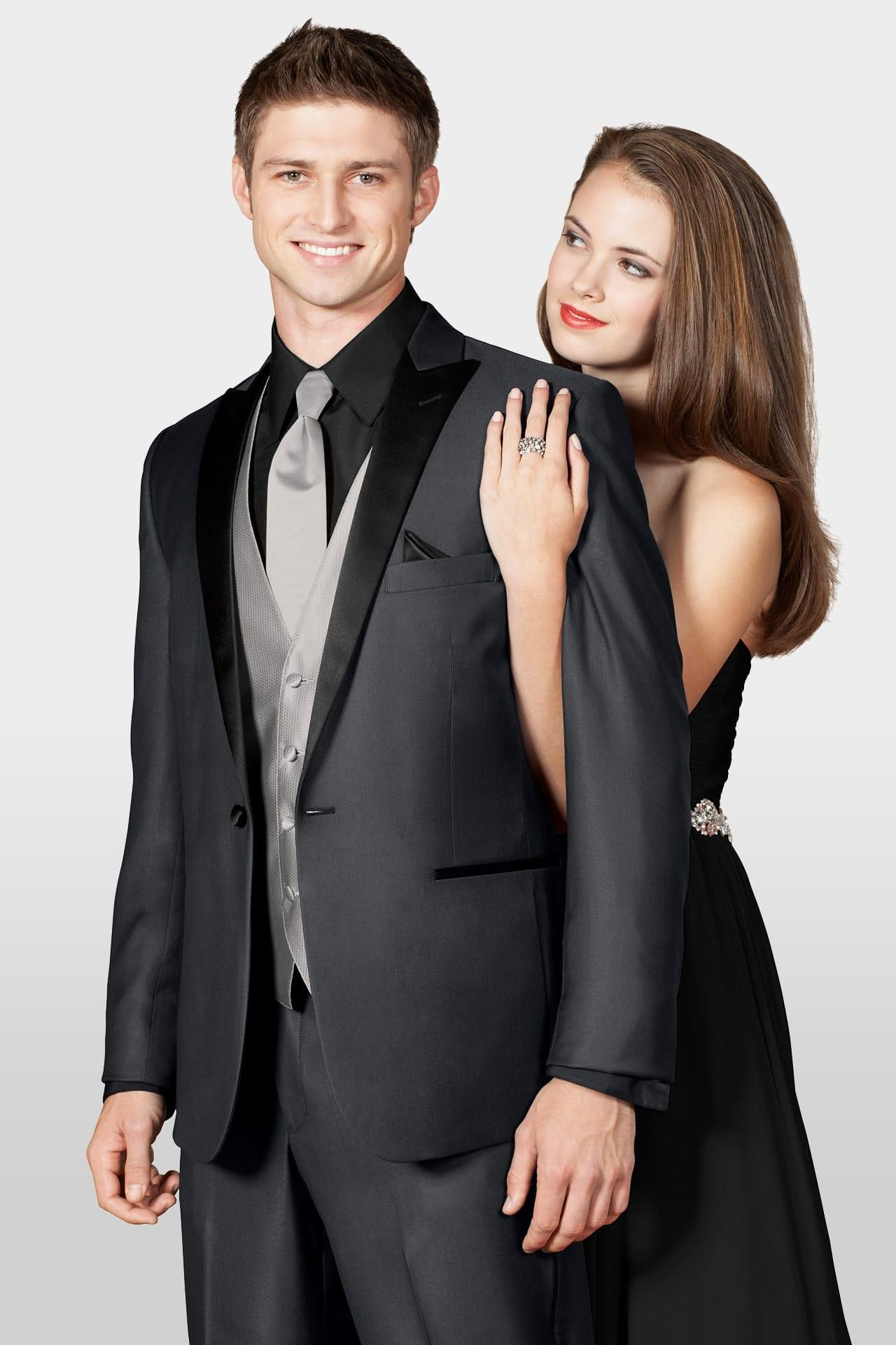 Tony Bowls Grey Portofino Slim Fit Tuxedo | Jim\'s Formal Wear ...