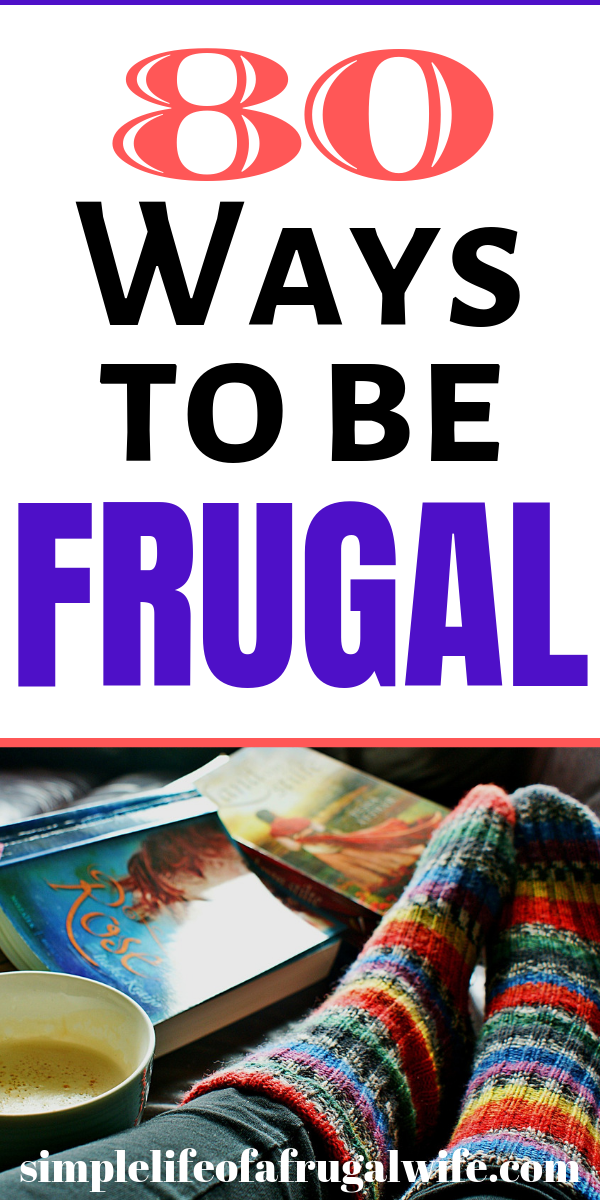 80 Ways to be Frugal