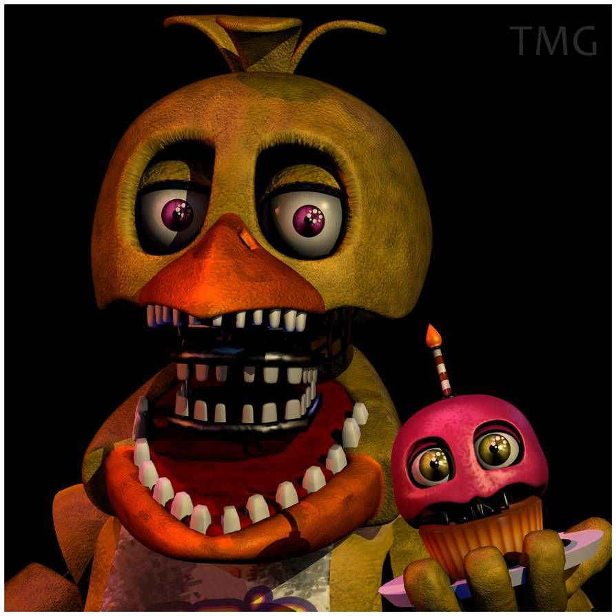 TMG:Unwithered Chica UCN Mugshot By Popi01234 On