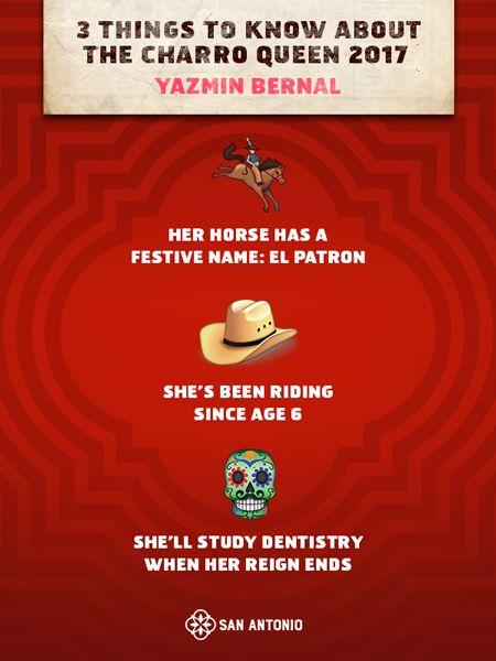 Viva Fiesta Get To Know Our 2017 Charro Queen Fiestasa Visit