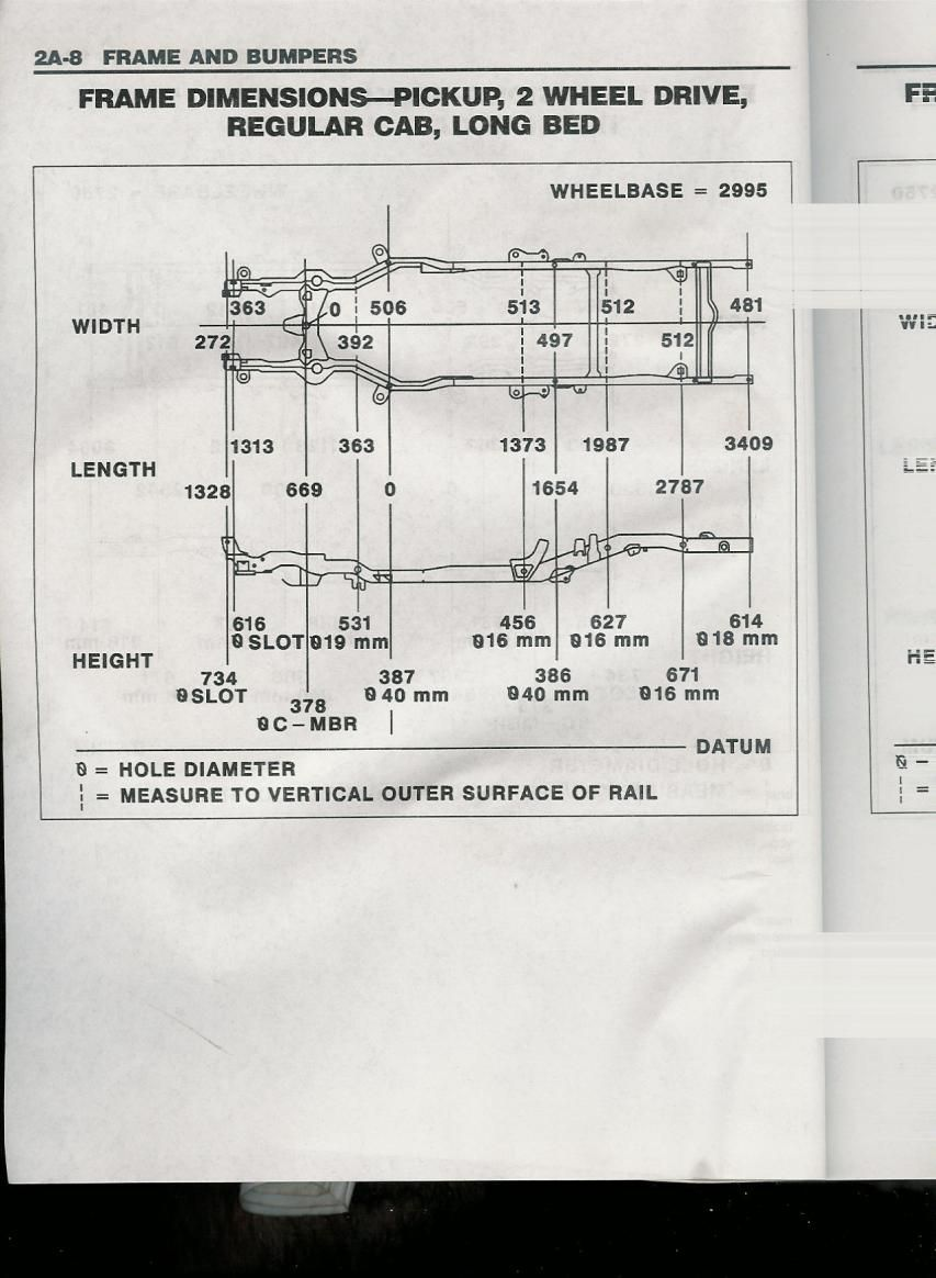 chevrolet s10 frame dimensions lajulak org 1965 plymouth valiant wiring-diagram