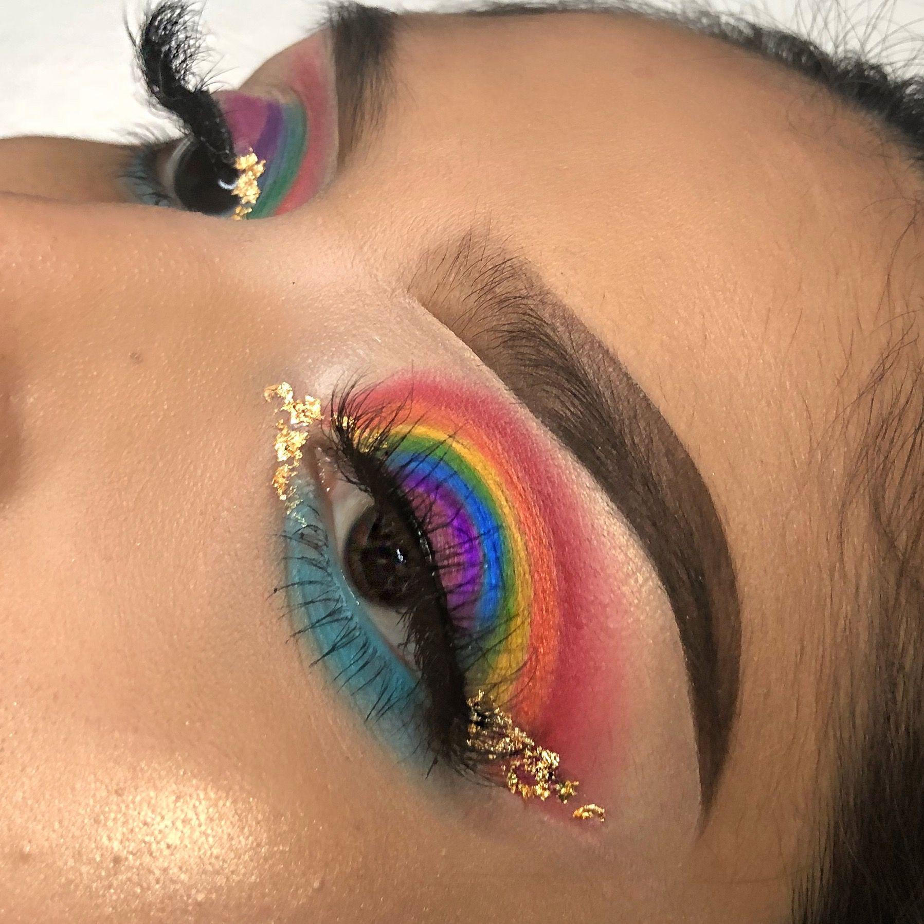 Pride Makeup Insta Arceoxo With Images Pride Makeup Cat