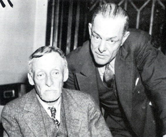 Albert Fish Is Seated Next To Detective Will King Serial Killers Albert Photo