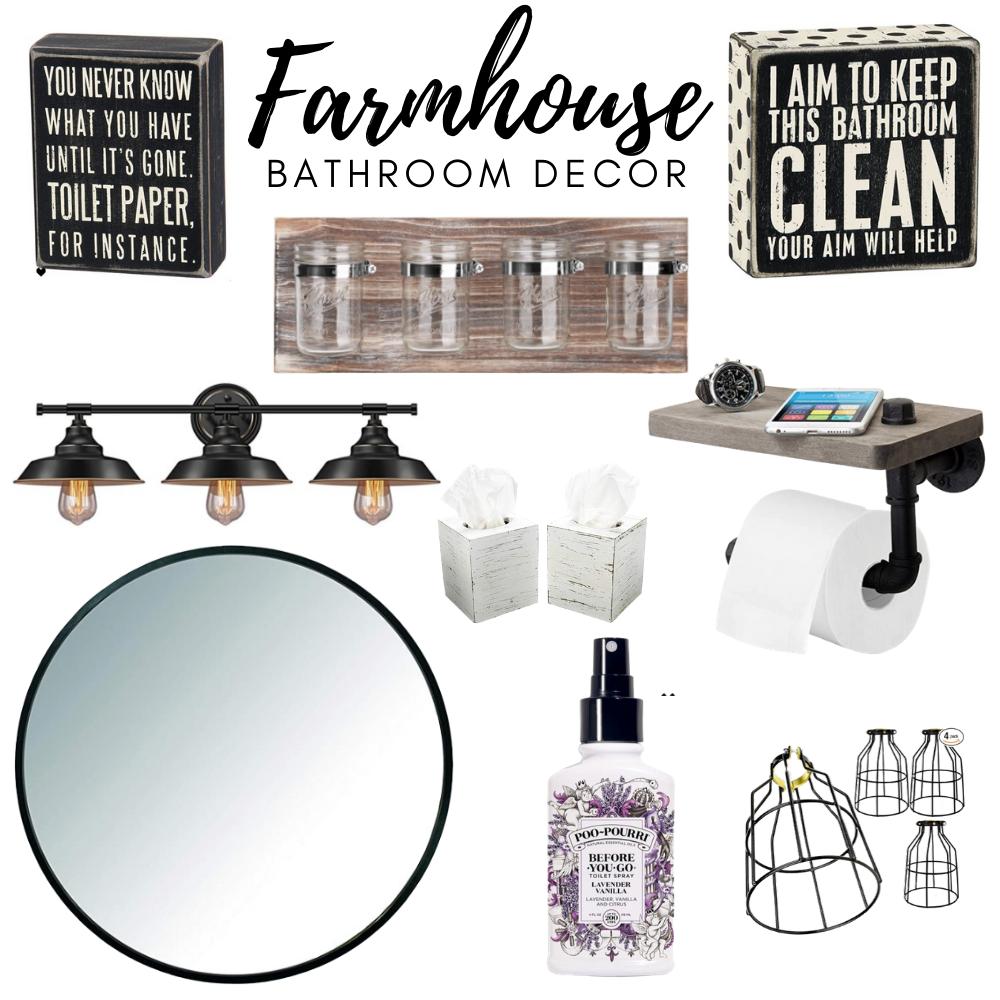 Amazon Farmhouse Bathroom Decor  #farmhouse #amazon #farmhousedecor #amazondecor #amazonshopping #farmhousefinds #interior decor #bathroomdecor