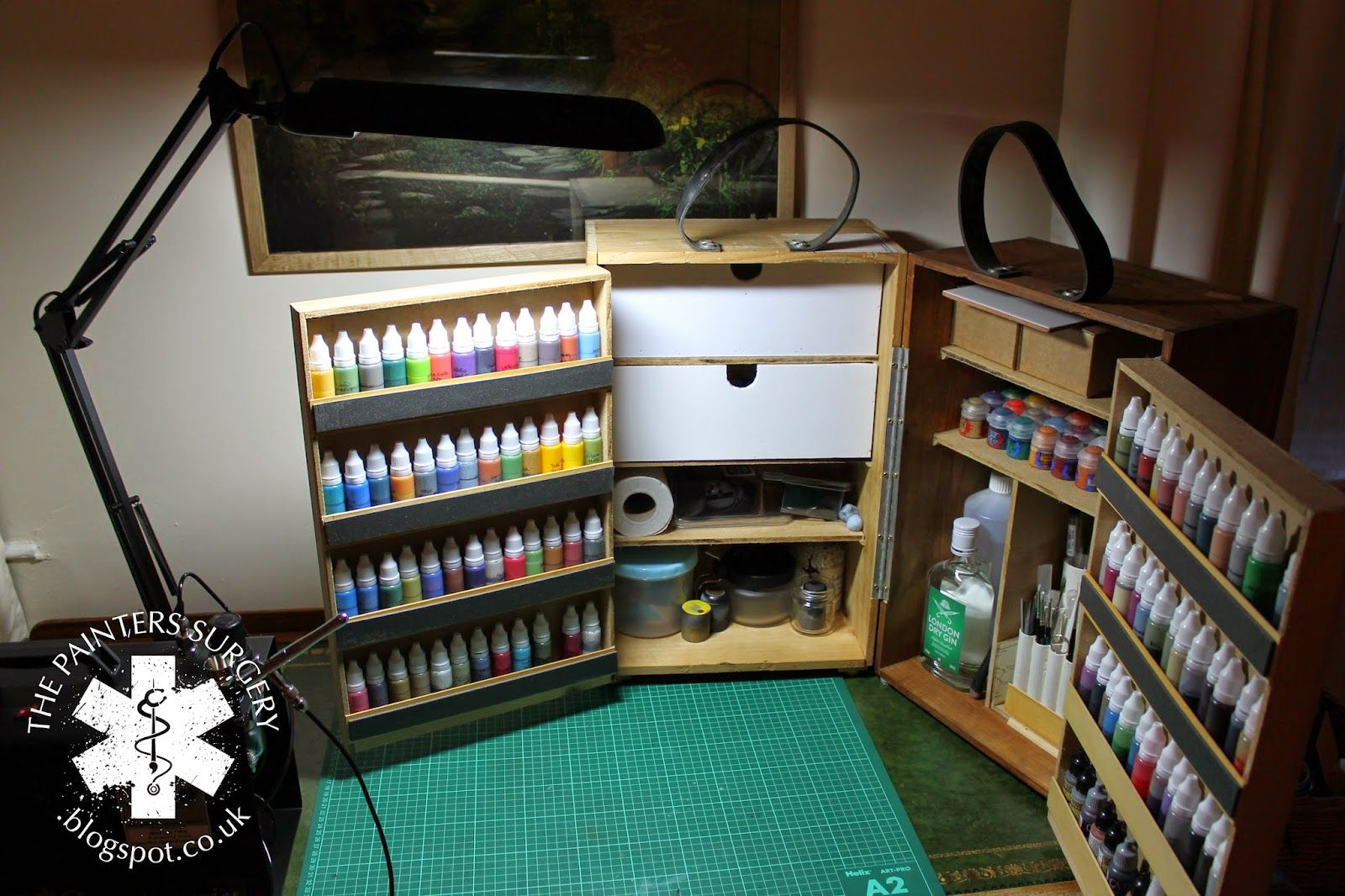 the painter s surgery portable paint station diy tools and craft