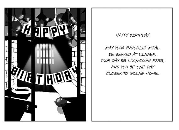 Birthday Card For Loved Ones And Friends In Jail Or Prison Jail Quote Birthday Wishes For Brother Prison Quotes