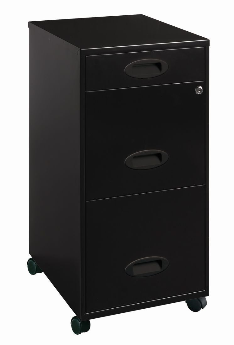 Small Filing Cabinet 3 Drawer Organizer Mobile File Cabinet Standing Desks Mobile