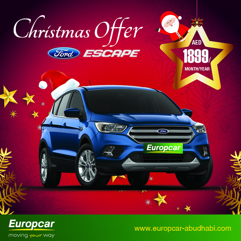 Gift Yourself A New Ride For A Year Avail Europcar S Special