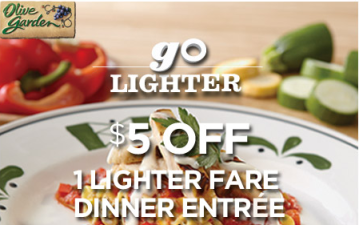 You can now easily find all Olive Garden coupons, deals
