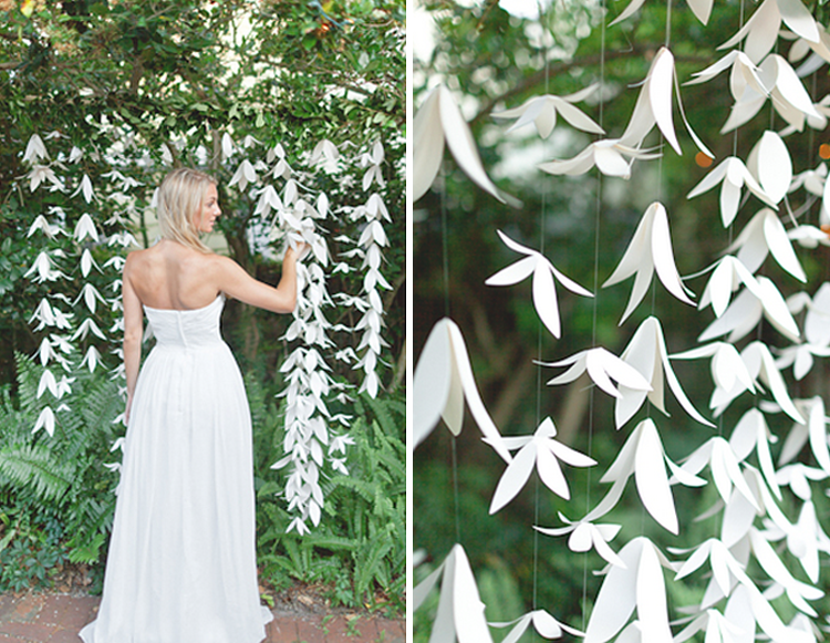 Paper Flower Backdrop Ideas From With Love Petals Withloveandpetals Garland IdeasBackdrop IdeasDiy