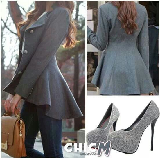 Casual with a touch of classy gray.