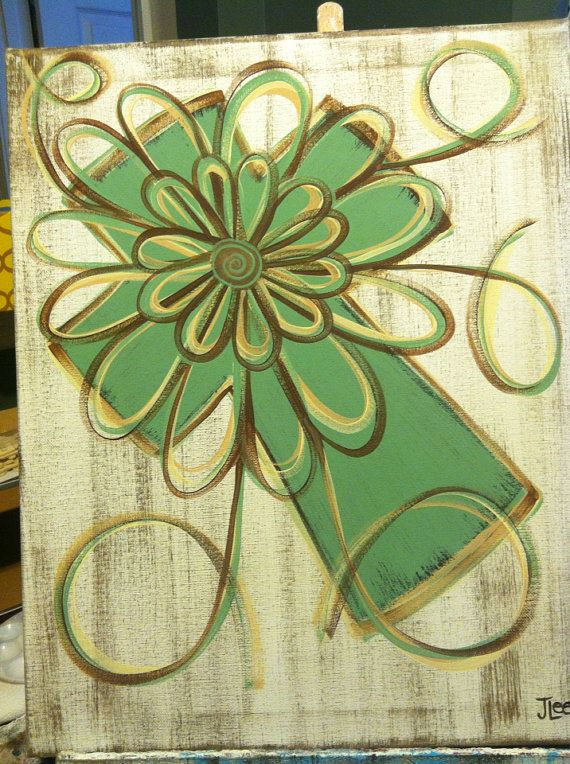 Sage Green Distressed Cross By Faithfullyframed On Etsy 25 00
