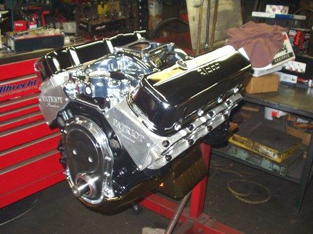 Chevrolet Big-Block engine | Chevy 502 / 550 Hp Stage Four