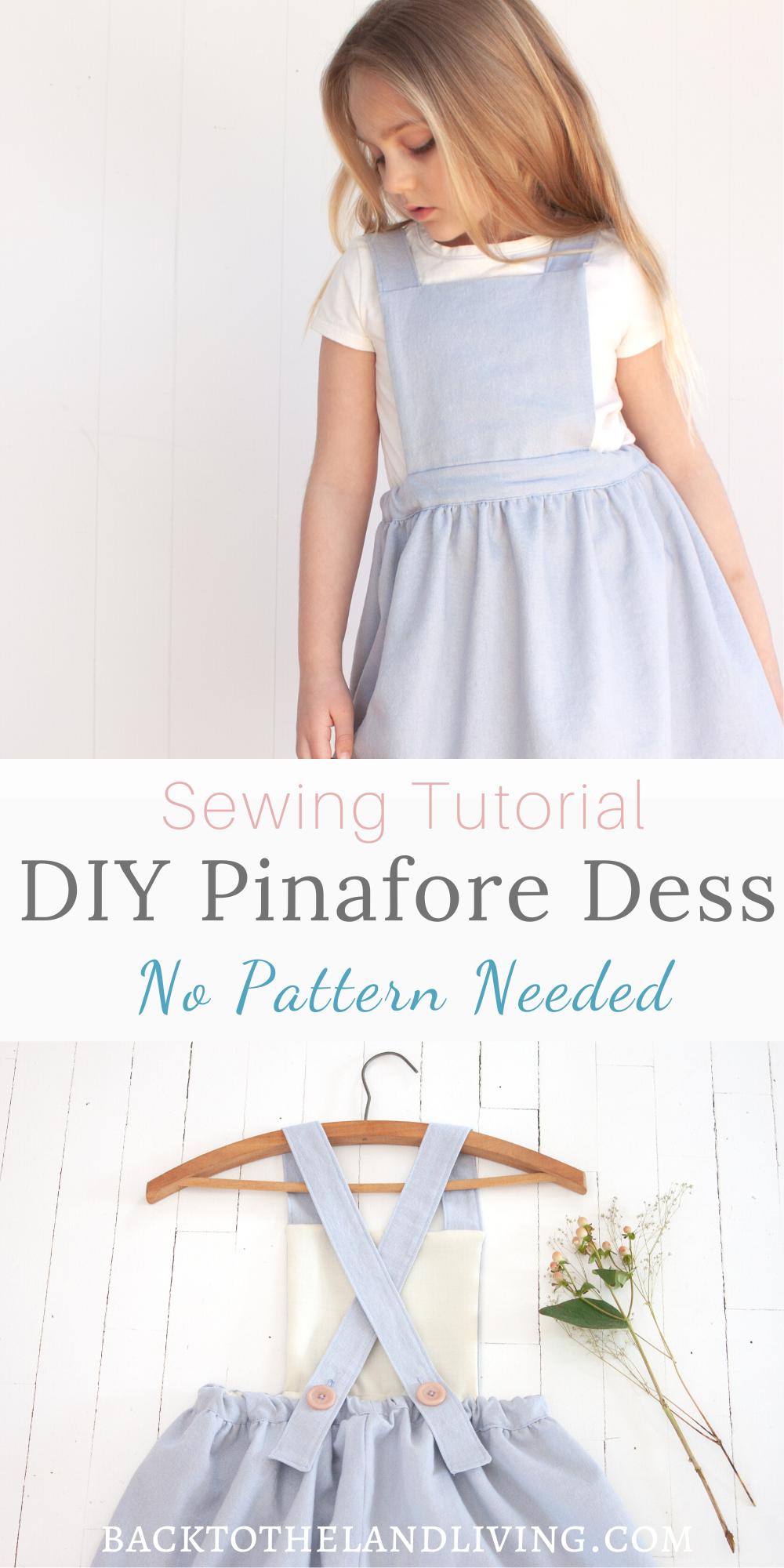 Photo of DIY Girl's Pinafore Dress