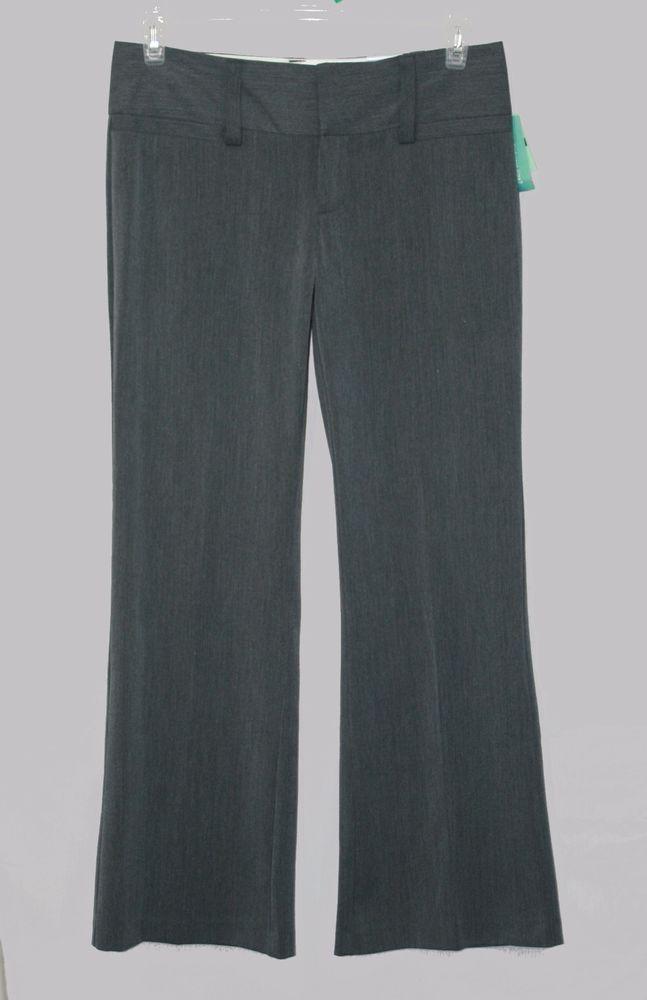 993f5e37f42 Maurices Gray I Am Smart Trouser Dress Pants Size 5 6 Short New Women's  Fashion