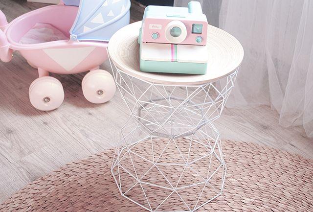 Chez Cette Fille Chez Moi La Petite Table Improvisee A Partir De