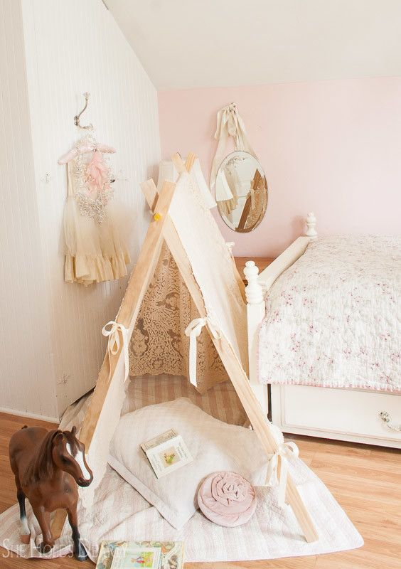 DIY Lace Tent & DIY Lace Tent | Tents Kids rooms and Room