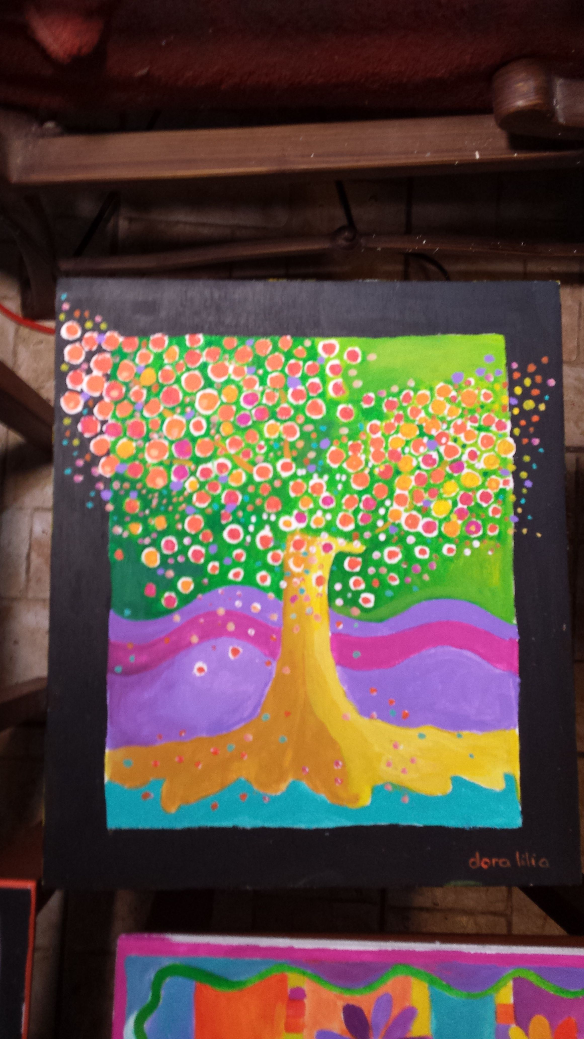 y pinté otra mesa más
