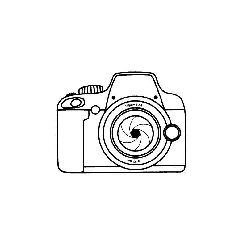 Tampon Clear Appareil Photo Kameras Clipart Tampon Clear Appareil Photo Camera Tattoo Design Camera Drawing Camera Art