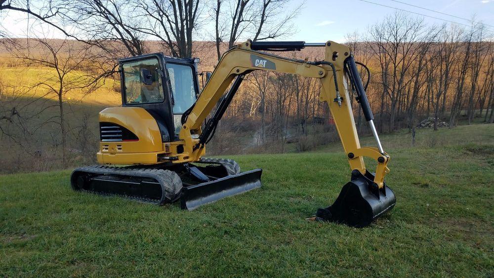 2011 Caterpillar 305D CR Mini Compact Hydraulic Excavator