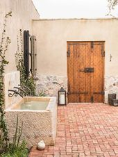 Photo of Mediterranean courtyard house shows rustic charm in Carefree, Arizona – best house …