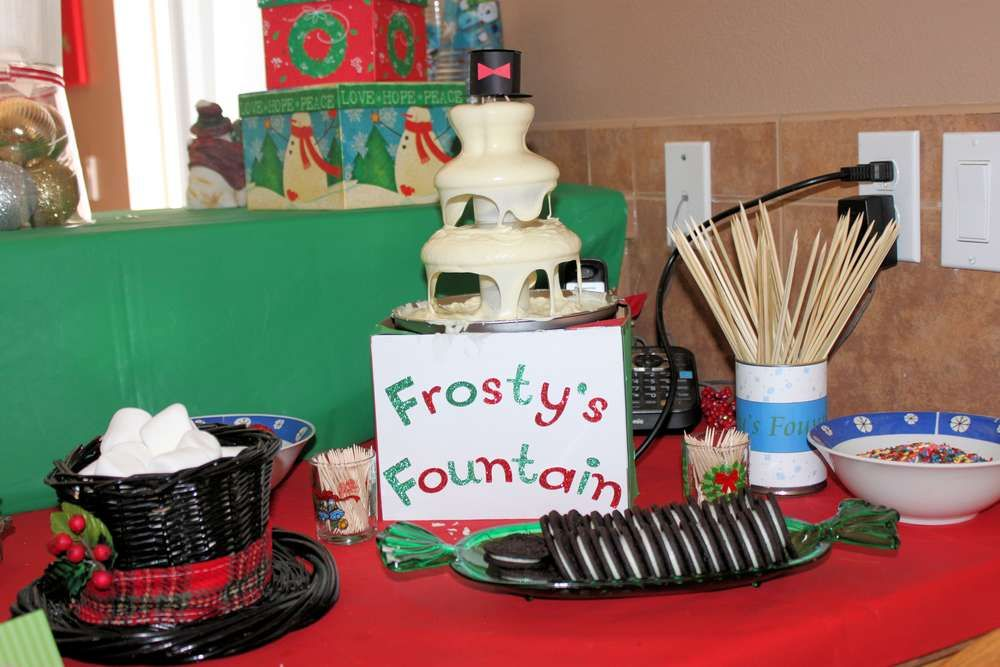 Christmas In July Party Ideas Part - 46: Christmas In July Birthday Party Ideas