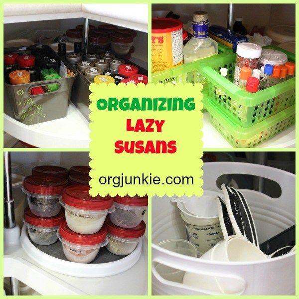 top organizing bloggers kitchen tour organizing lazy susans lazy susan corner cabinet lazy on kitchen organization lazy susan id=79501
