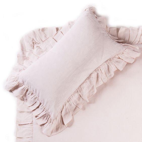 Pom Pom at Home Charlie Pink Crib Pillow Sham @LaylaGrayce