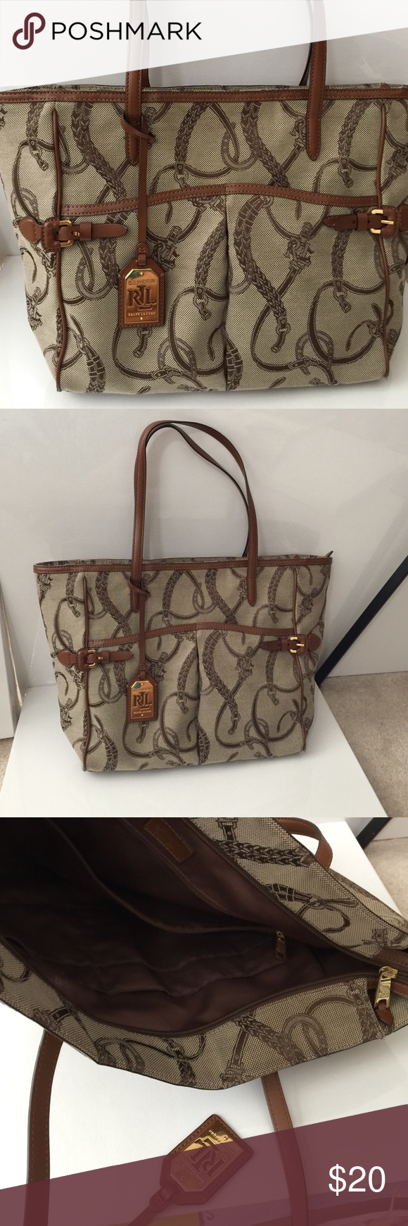 f66d7e4352 Lauren Ralph Lauren tote Lovely stylish RLL tote bag. Easy to wear. Classic  styling. Ralph Lauren Bags Totes