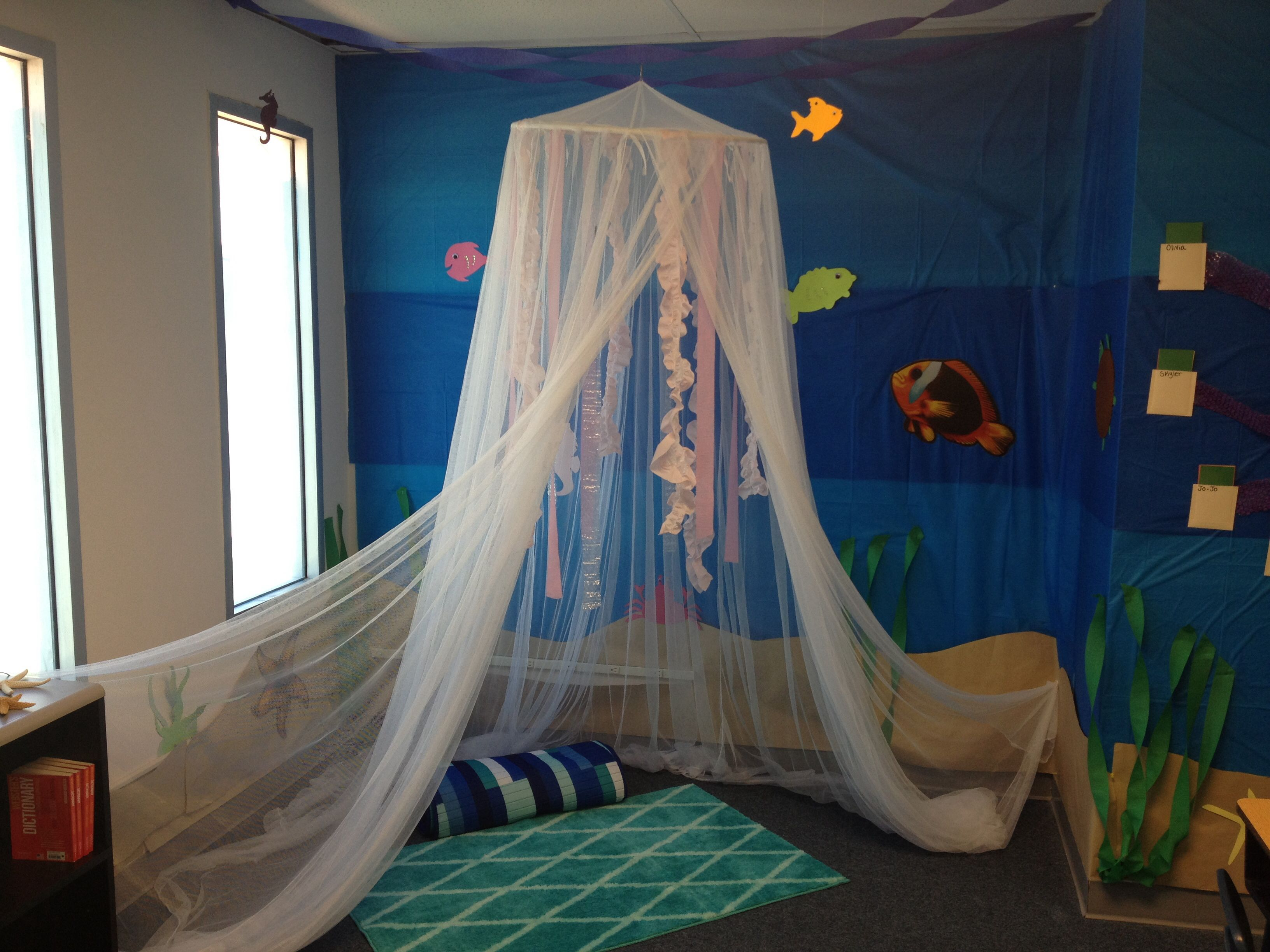 Jellyfish Reading Nook In My Classroom