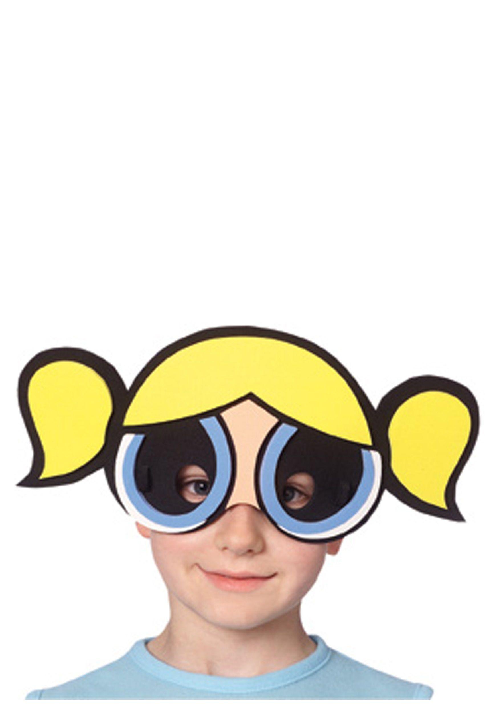 bubbles-powerpuff-mask.jpg (1750×2500) | Powerpuff Girls Halloween ...