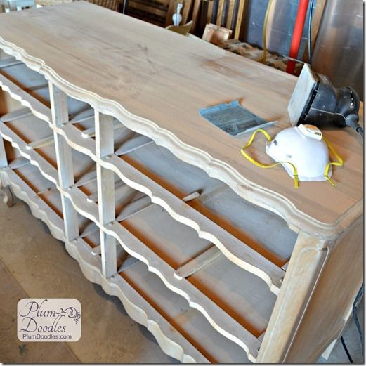 Converting a dresser into a tv stand furniture - Soporte de pie para tv ikea ...