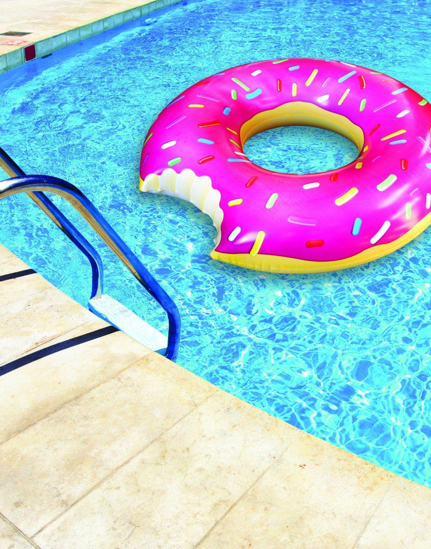 La bou e g ante donut jeux et jouets bou e for Accessoire piscine fun