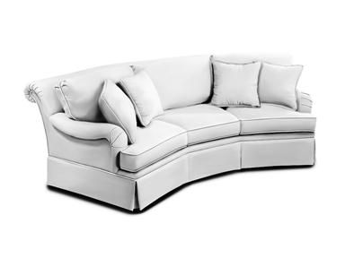 Charleston House Curved Sofa 8151