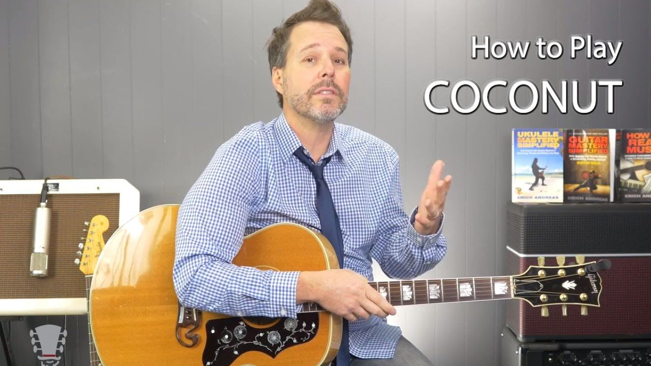 How to Play Coconut by Harry Nilsson Guitar Lesson