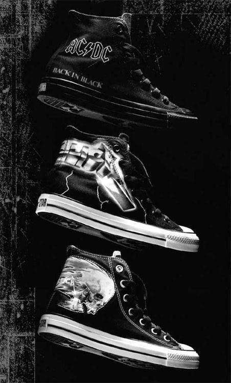 I like the AC/DC converse!!