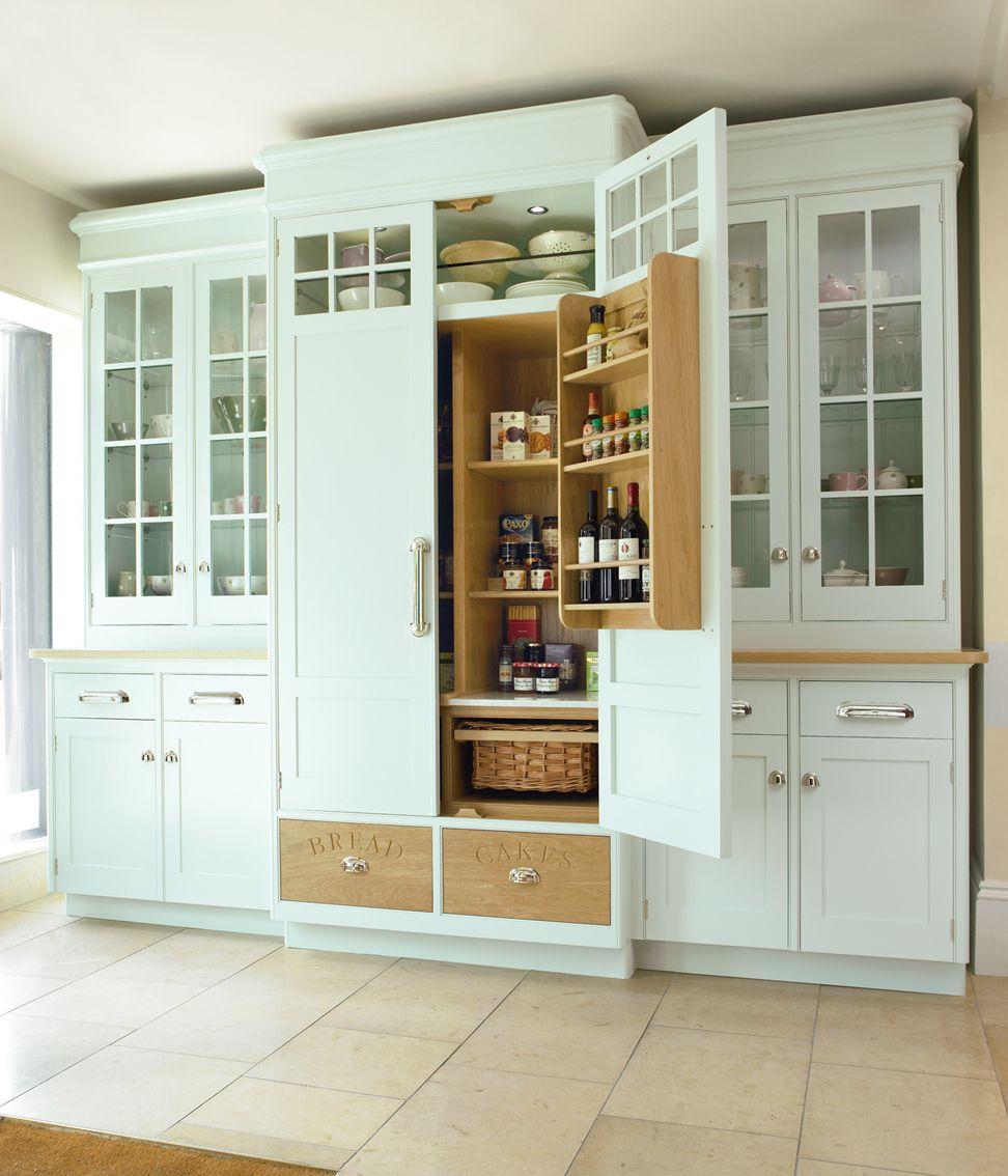 New England Hand Painted Larder Simply Stunning Kitchen New Kitchen Mark Wilkinson Kitchens