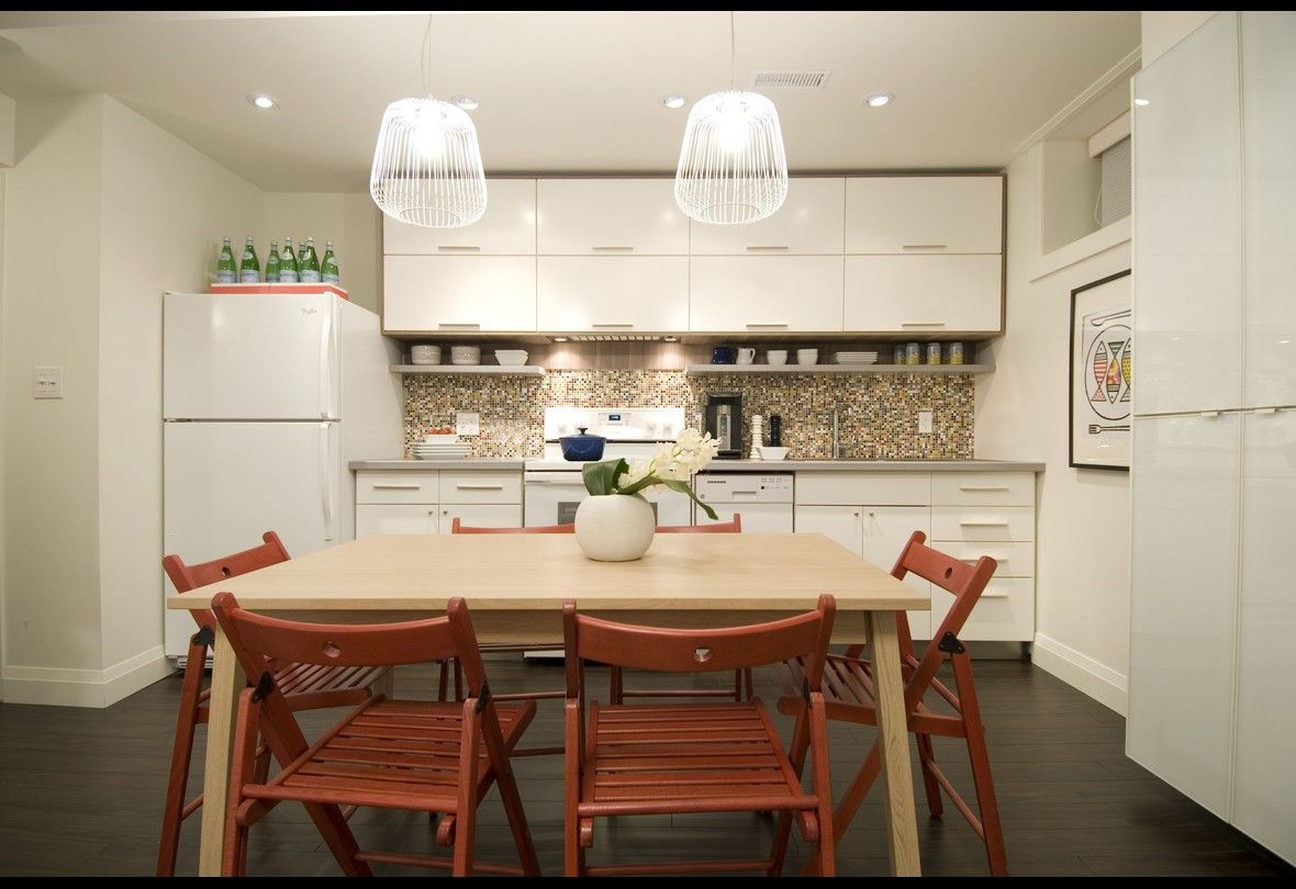 Red And White Kitchen Income Property