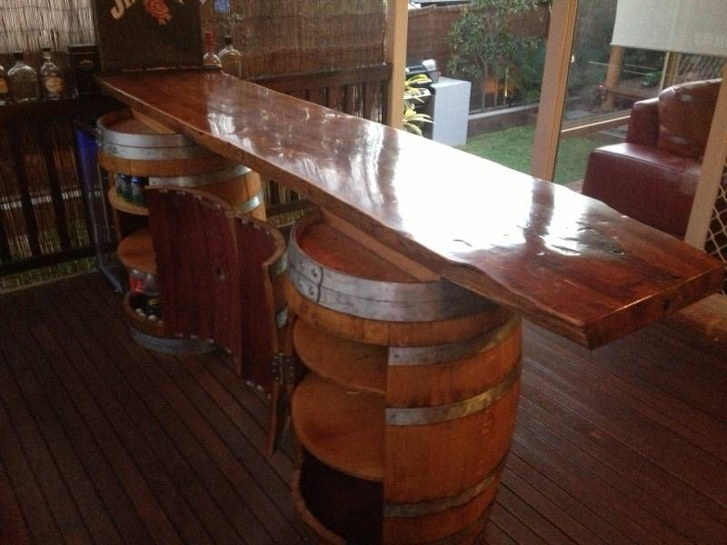 Wine Barrel Bar Wine Barrel Bar Cabinet Tables Gumtree