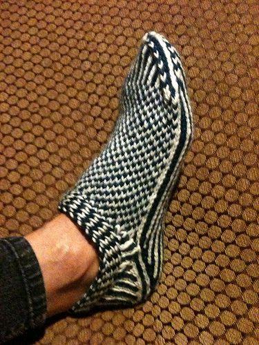 Ravelry Mnberg S Scandinavian Slipper 1 Socken Handschuhe