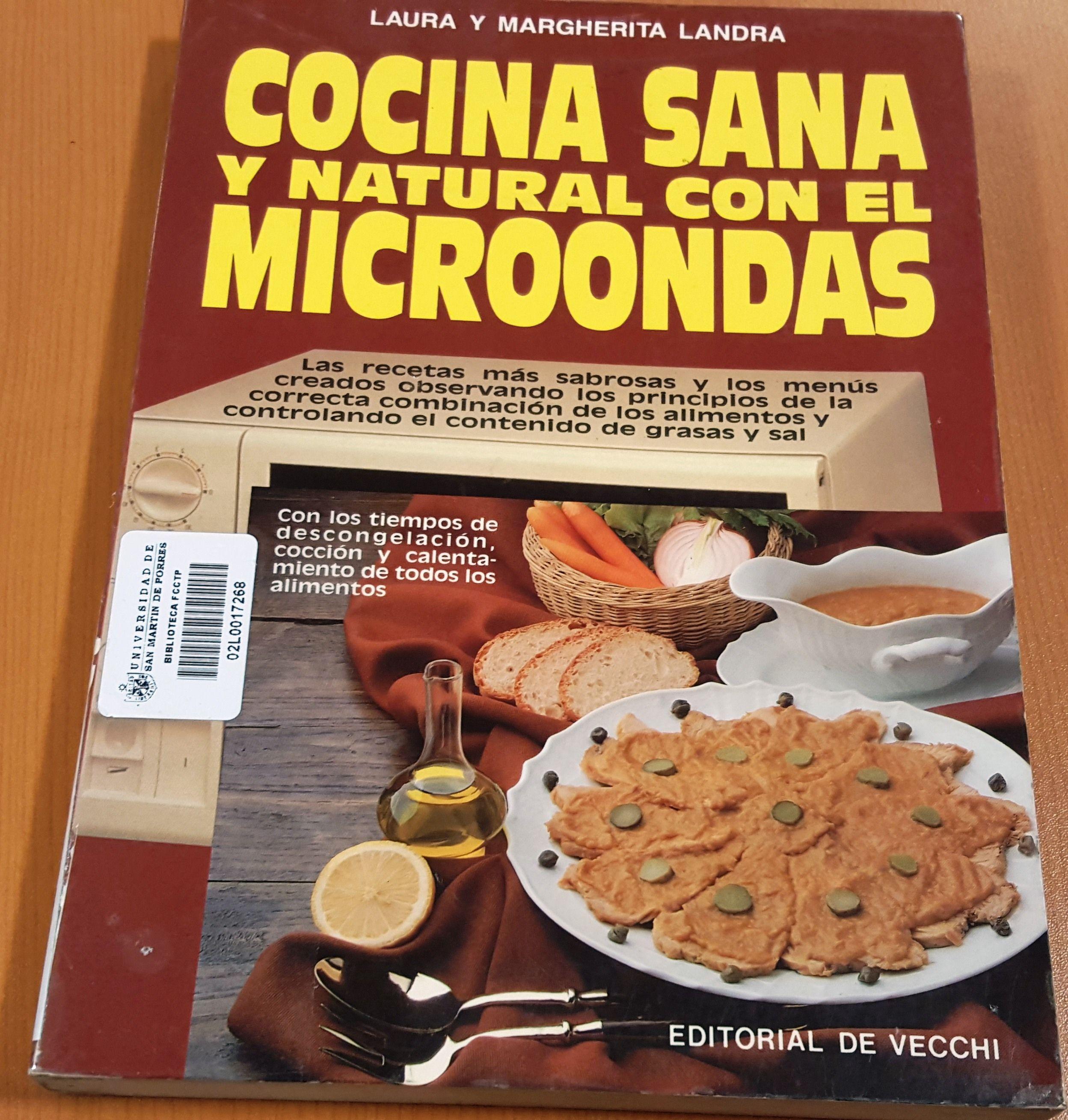 Cocina Sana Y Natural   Titulo Cocina Sana Y Natural Con El Microondas Autor Landra