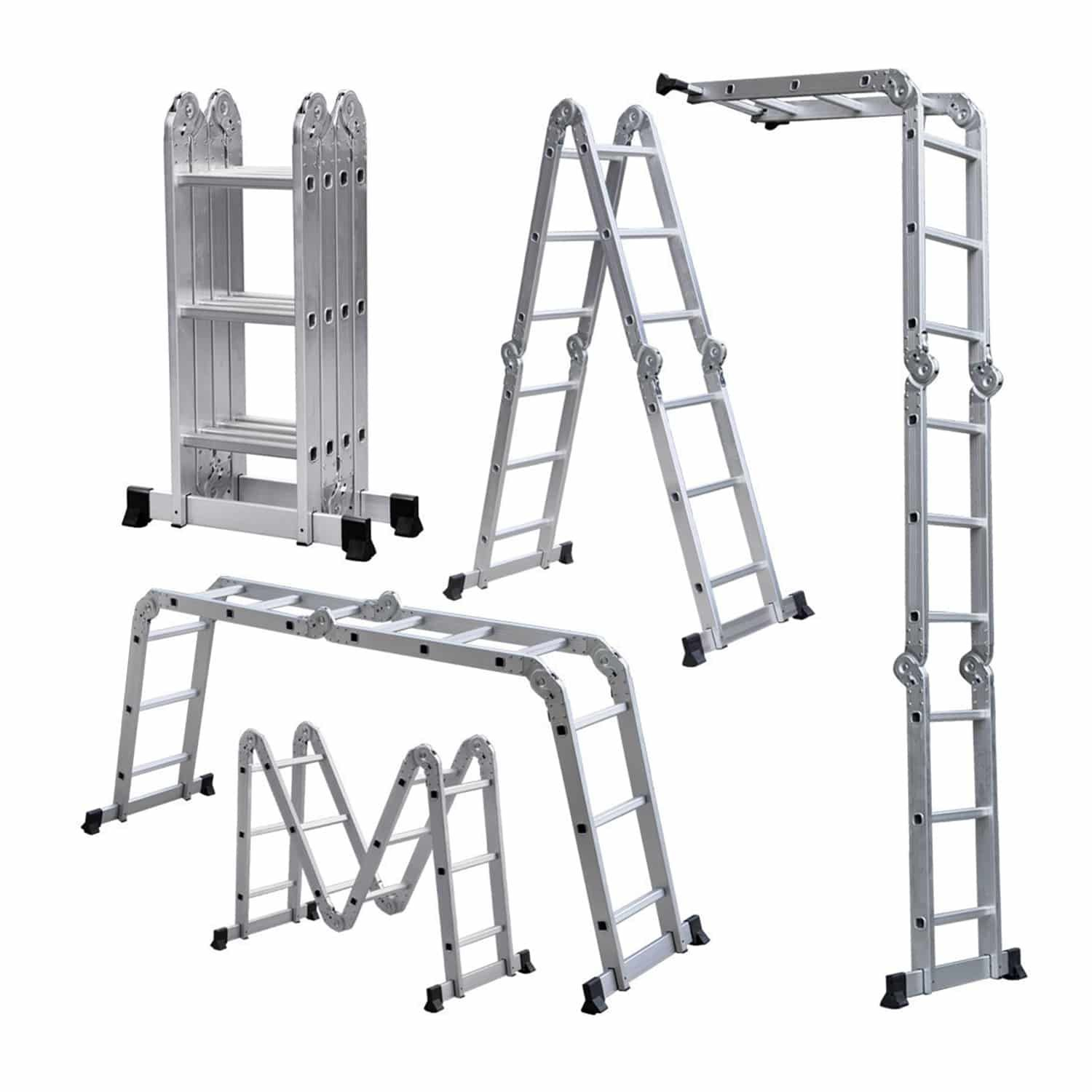 Lightweight 12 Aluminum Multipurpose Ladder Multi Purpose Ladder Aluminium Ladder Folding Ladder