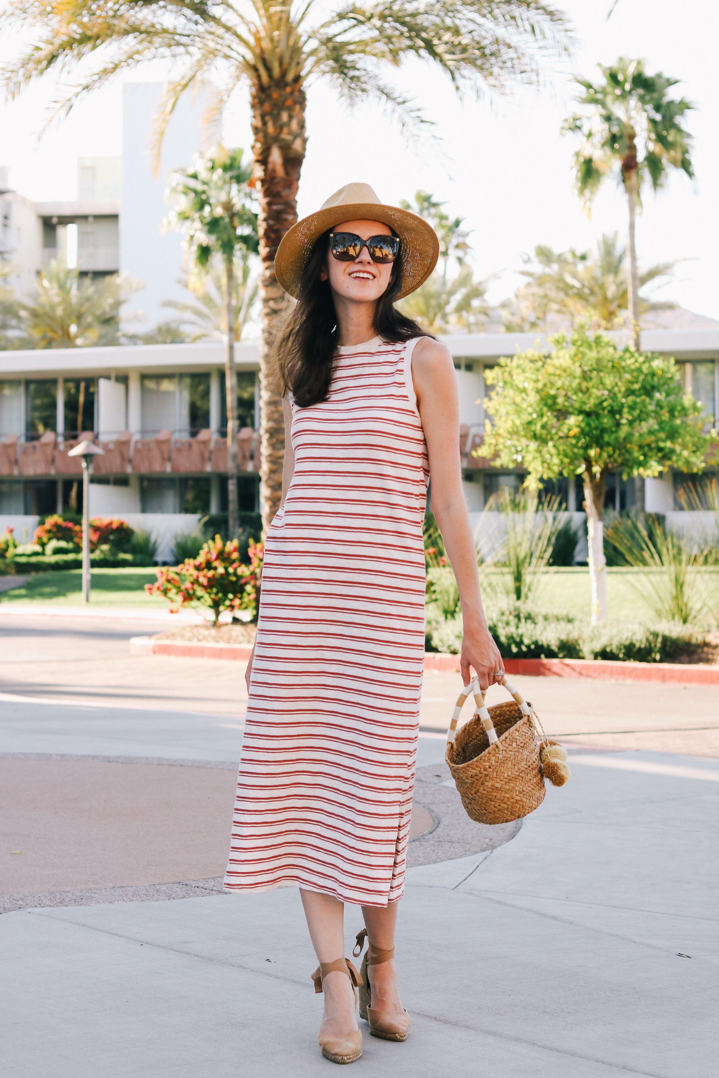 Target Style Striped Midi Dress Blushful Belle Striped Midi Dress Midi Dress Midi Dress Sleeveless [ 3750 x 2500 Pixel ]