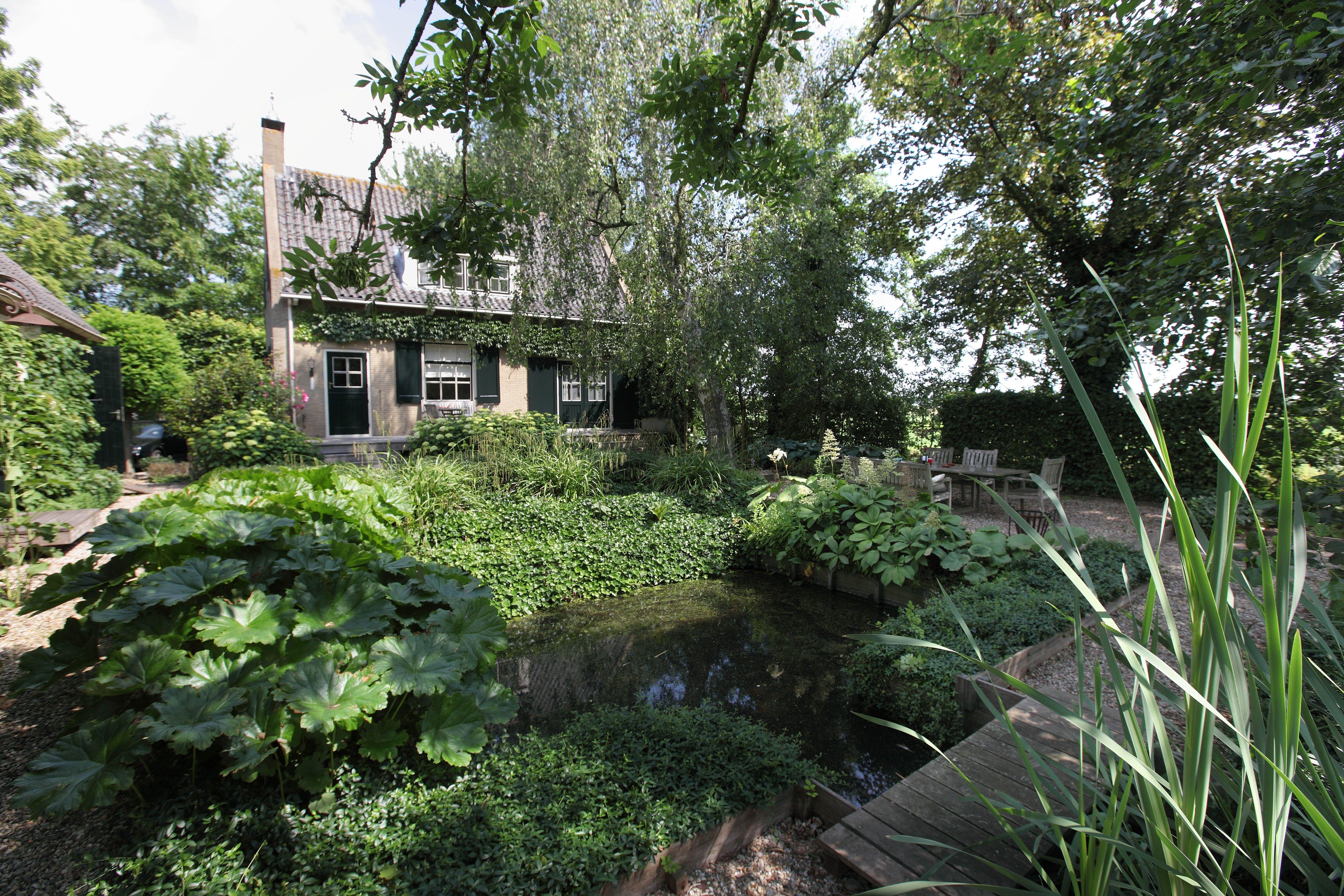 Beplantingsplan Natuurlijke Tuin : Tuin tuinontwerp tuinarchitect hovenier hoveniersbedrijf